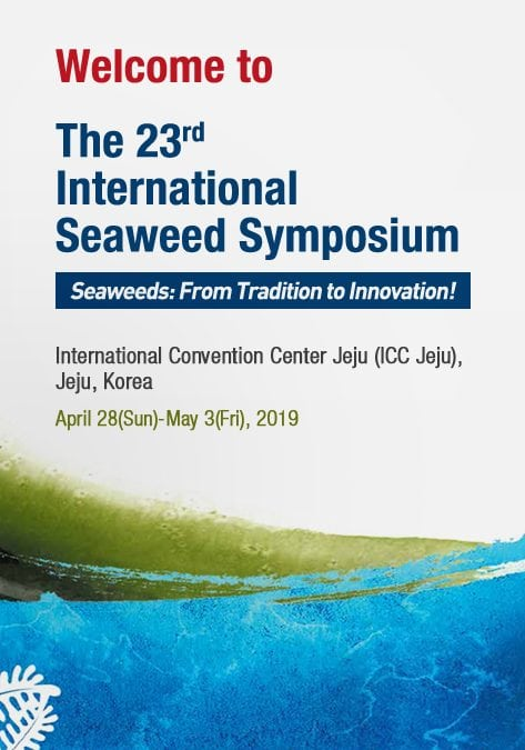 23rd International Seaweed Symposium (ISS 2019)