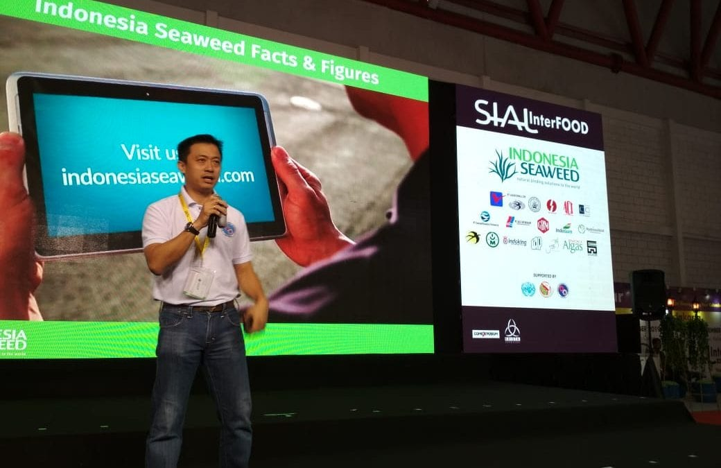 Indonesia Seaweed Brand Launch Event at SIAL InterFood 2018