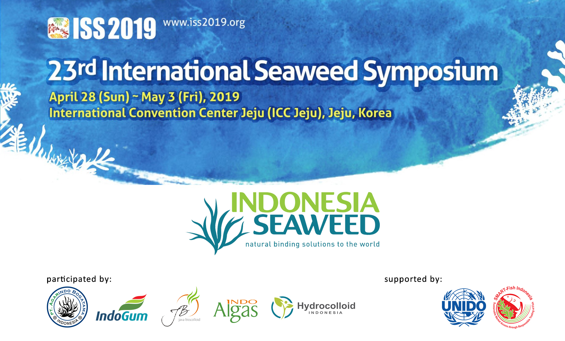 Indonesia Seaweed at ISS 2019 Jeju