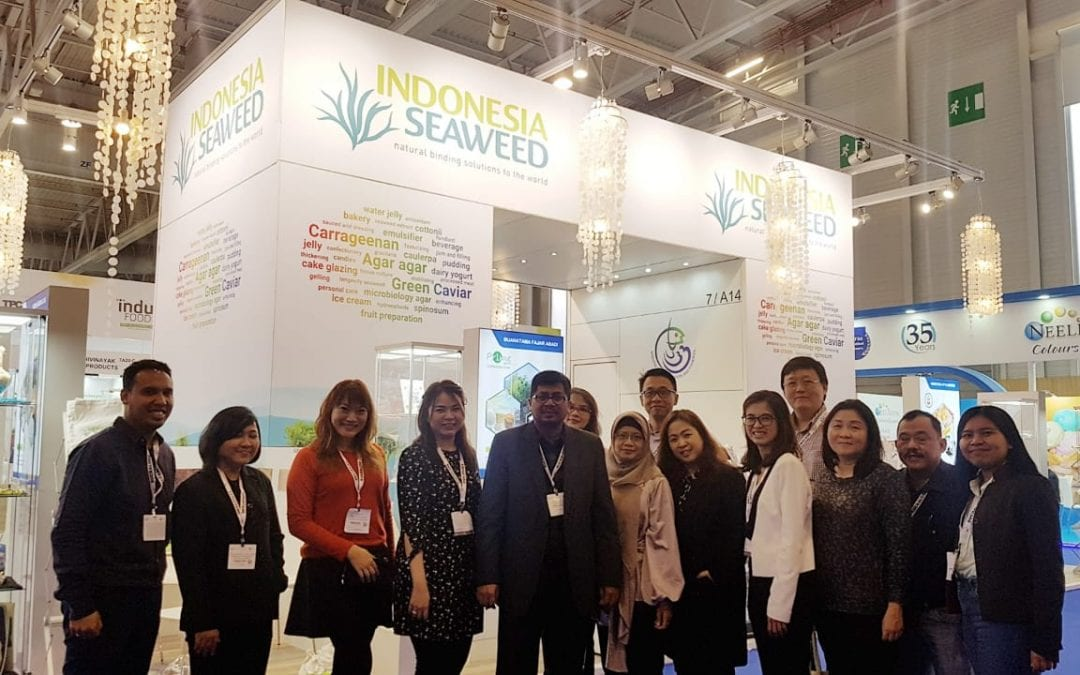 Indonesia Seaweed Pavilion at Food Ingredients Europe 2019